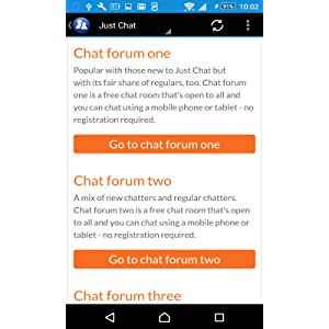 Just chat forum one