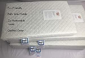 NEW QUILTED TRAVEL COT MATTRESS FIT 119 X 59 x 6 Travel Cot Mattress BABY REX/®