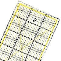WINTEX regla universal 15 cm x 60 cm, transparente   con 2 años de garantía de satisfacción   base para corte, regla para patchwork