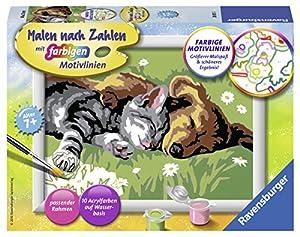 Ravensburger Tiefer Schlaf Kit de Pintura por números - Libros y páginas para Colorear (Kit de Pintura por números, 1 páginas, Niño/niña, 7 año(s), 13 cm, 18 cm)