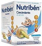 Nutribén Papilla Crecimiento Vitaminas y Calcio - 600 gr
