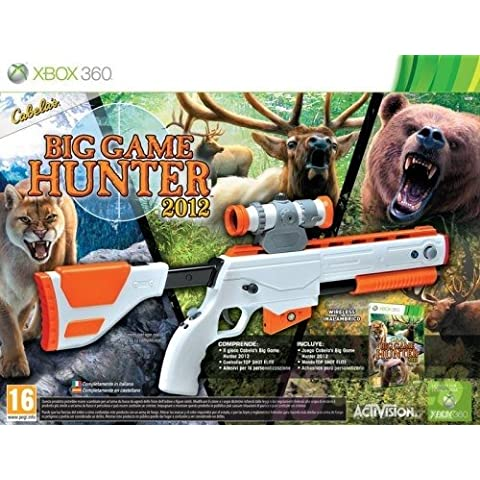 Cabelas Big Game Hunter 2012-Bundle with shotgun