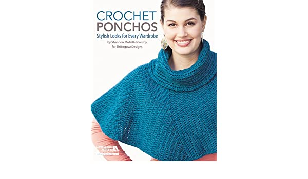 Buy Crochet Ponchos Book Online At Low Prices In India Crochet