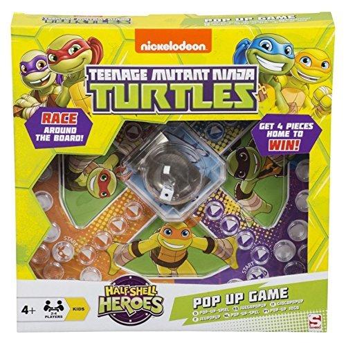 Image of Teenage Mutant Ninja Turtles Pop Up Game Frustration Family Board Game TMNT