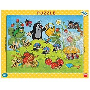 Dino Toys 322011 Little Mole - Puzzle con Marco