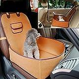 Kaxima Bolso Portable del Animal doméstico Sentir Coche de Perro de Gato de Tela un cojín de Asiento de Seguridad de Equipaje Gato Perro copiloto