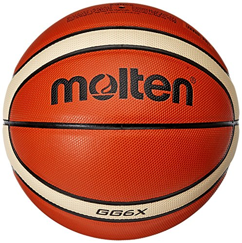 Molten Spielball Orange Gr. 6 Basketball, Orange/Ivory, 6