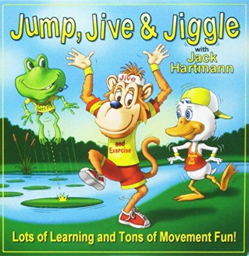 Jump Jive & Jiggle by Jack Hartmann (2013-08-03)