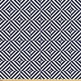 ABAKUHAUS Geometrisch Stoff als Meterware, Symmetrisches