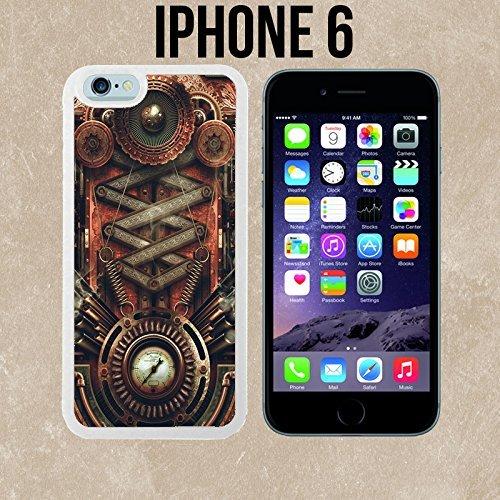 ouucase Steampunk Carte mère fabriqué sur mesure étui/housse/étui Skin pour iPhone 6-Blanc-DIY HD Housse PC Pour New Design