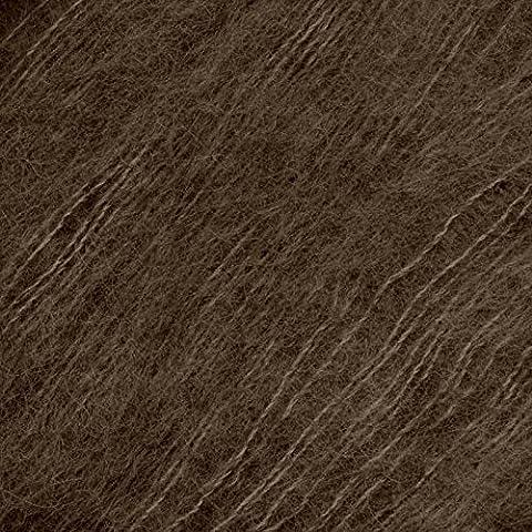 Katia en alpaga Couleur n ° 64 Marron DK Lot de 4 aiguilles à tricoter de 25 boules G 4,5 mm 150 m 74% alpaga - 26% soie