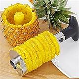 Isabella Heavy Stainless Steel Fruit Pineapple Corer Slicer Peeler Kitchen Cutter Knife