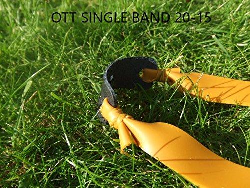 Fire Power Catapult Elastische Übungsbänder Theraband Gold OTT. Konisch 20-15