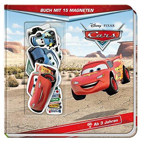 Disney Cars: Buch mit 15 Magneten