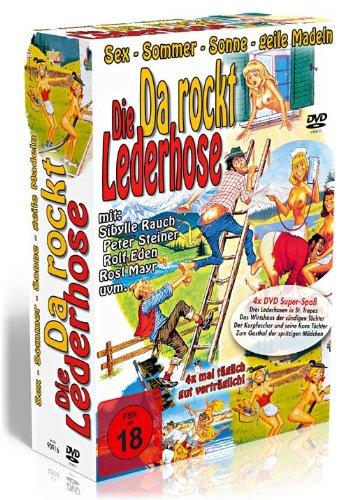 Da rockt die Lederhose - 4er DVD-Schuber