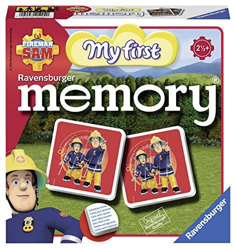 Ravensburger Memory 21204 - Fireman Sam, Mein erstes Memory (Sam Spielzeug-fahrzeug Feuerwehrmann)