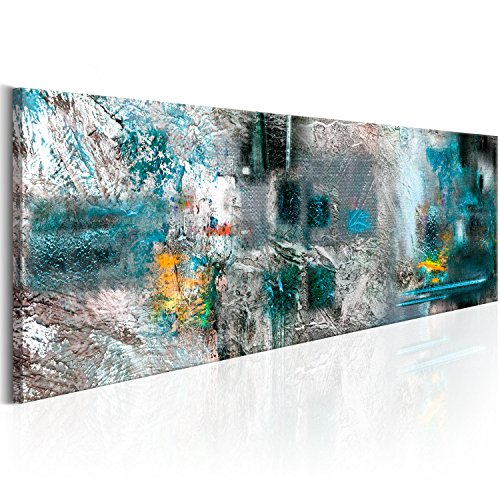 murando - Cuadro en Lienzo 135x45 cm - Abstraccion - Lienzo tejdio no tejido - a-A-0262-b-d