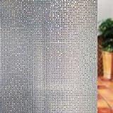 Fensterfolie fenster dekorationen window sticker klebstoff statische elektrizität balkon küche wärmedämmung light lichtdurchlässig-B 60x200cm(24x79inch)