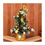 #10: Christmas Tree with Golden Basket