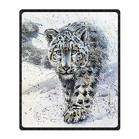 Coutume Lion non-tissé Couverture et Jeter Blanket and Throw pour