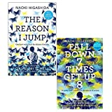 Reason i jump and fall down seven times get up eight 2 books collection set - one boy's voice from the silence of autism