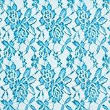 Fabulous Fabrics Spitze Leicht – türkis — Meterware ab