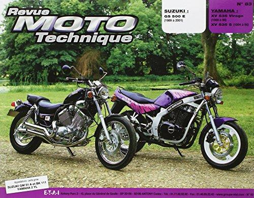 Revue Moto Technique, N° 83 : Suzuki GS 500 E - Yamaha XV 535
