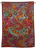 Indian Cotton Tapestry Mandala Wandbehang Tagesdecke Twin Size Décor Werfen 84 X 56 Zoll