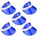 The Glowhouse - Pack of 5 Sunvisors - Premium Quality Sun Visors