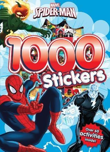 Marvel Spider-Man 1000 Stickers: Over 60 activities inside! por Parragon Books Ltd