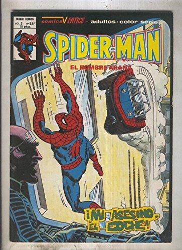 Spiderman volumen 3 numero 63 - F (numerado 1 en trasera)