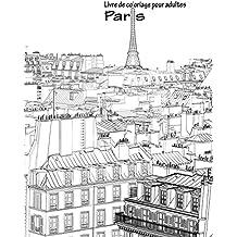 Livre de coloriage pour adultes Paris 1