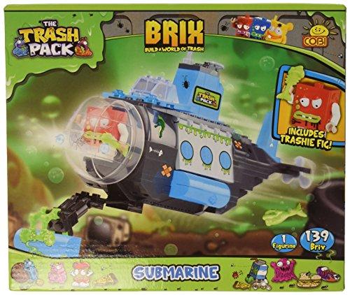 TRASH PACK / 6244 / SOUS-MARIN 143 briques de construction par COBI