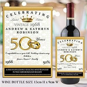 wine label size