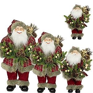 61azPJiKVbL. SS300  - '10x 41PC 60cm Santa Claus Decorative Christmas Santa Clause Figurine Large Christmas (3-7Days Delivery Time)