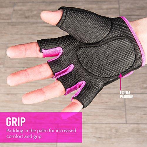 Zoom IMG-3 proworks guanti imbottiti senza dita
