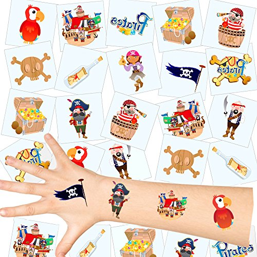 - Piraten Kinder Tattoos - Set ┃ NEU ┃ Piraten Party ┃ Kindergeburtstag ┃ Mitgebsel ┃36 Tattoos (Kinder Spiele Für Die Halloween-party)