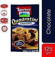 Loacker Quadartini Chocolate Wafers, 125 g