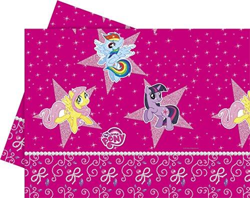 ny Tischdecke aus Kunststoff, 1,8m x 1,2m (My Little Pony Rainbow Dash Party Supplies)