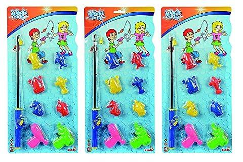 Simba 107406908 - Magnet Angelspiel, 3-sortiert