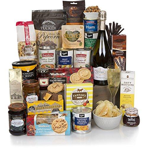 Cesta de Prosecco y festión de comida - Cestas de comida y de regalo - La selección gourmet perfecta y completa para él o para ella