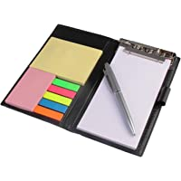 Amigozz Diary Style Brand Clipboard Memo Note Writing Pad And Sticky Note Pads Book(pen may vary)