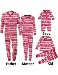 Riou Weihnachten Set Baby Kleidung Set Pullover Outfits T Shirt Tops Hosen Pyjama Weihnachten Set Familie Kleidung... preisvergleich bei kinderzimmerdekopreise.eu