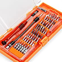 INTEY 58 en 1 destornilladores de precisión, 54 cabezas, para teléfonos móviles, computadoras tablet, toolkits de productos electrónicos de reparación