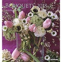 2018 Bouquets Calendar - Wall Calendar- Flower Calendar - 45 x 48 cm
