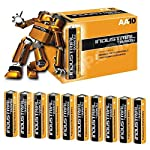 Duracell Industrial 9V Batteries Box of 10 Alkaline-Manganese Dioxide Battery (1604 / 6LF22)