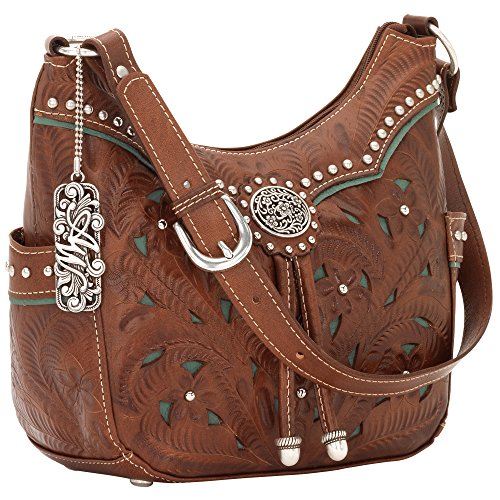 Collection American West Marron - Antique Brown/Turquoise
