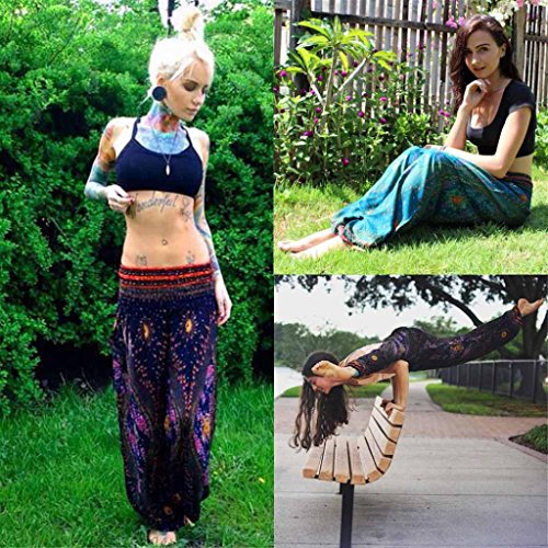 BeautyTop Donna Uomo Yoga Pantaloni Pants Harem tailandese Sportivi leggings Sport Running yoga Pantaloni da atletica Pantalone Verde