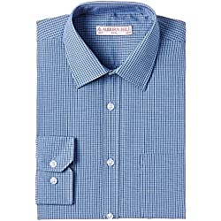 Auburn Hill Men's Formal Shirt (8907002750600_254733651_40_Blue)