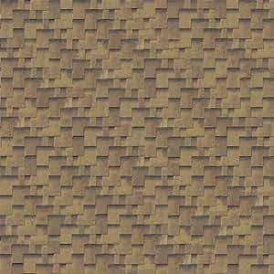 Karibu tuile-asymétrique-couleur :  bois de cèdre
